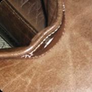 Perbaikan jahitan kulit sofa terpisah pecah / terbelah | Jasa perbaikan sofa terbaik di Surabaya Milan Mandiri | One Stop Service & Laundry